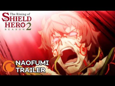 The Rising of the Shield Hero Season 2 | NAOFUMI TRAILER