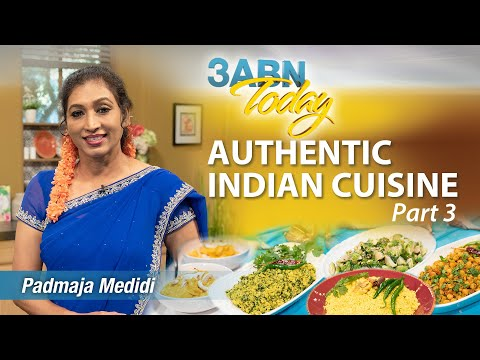 """3ABN Today Cooking - """"Authentic Indian Cuisine Pt. 3"""" with Padmaja Medidi (TDYC190005)"""