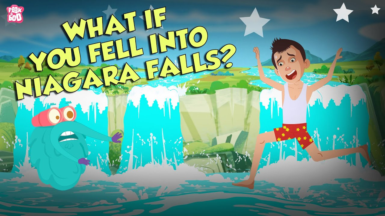 Download What If You Fall into Niagara Falls? | Niagara Waterfall | The Dr Binocs Show | Peekaboo Kidz