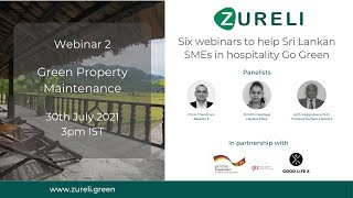 Webinar 2   Green Property Maintenance