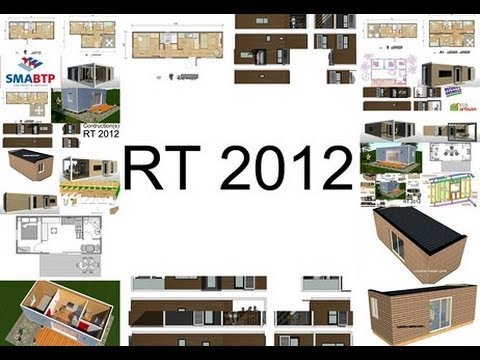 屳 +33 (0) 6 30 66 78 63 - Maison container 63M² suisse - YouTube