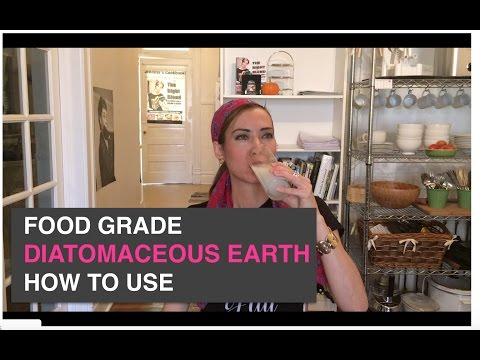 Diatomaceous Earth Food Grade | How To Use + Silica Benefits