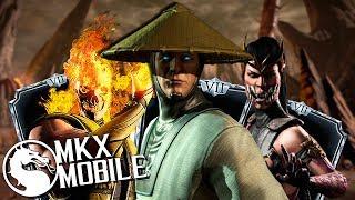 АЛМАЗНЫЙ ОТРЯД • НЕВЕРОЯТНАЯ МОЩЬ! • Mortal Kombat X Mobile