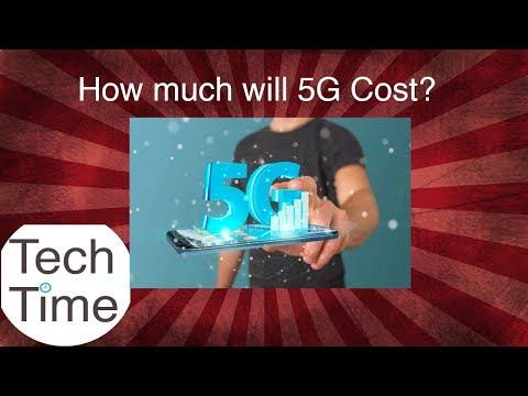 .建造一座 5G 基地台要花多少錢 ?