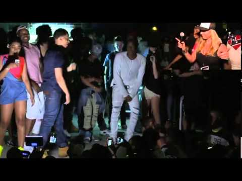 Chief Keef, Lil Bibby and RiFF RAFF Live at Crazefest, Indiana Part 2