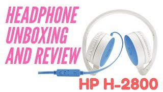 6e379a3a0fc Best headphone in BD at cheap price !!! [HP H2800 unboxing & review
