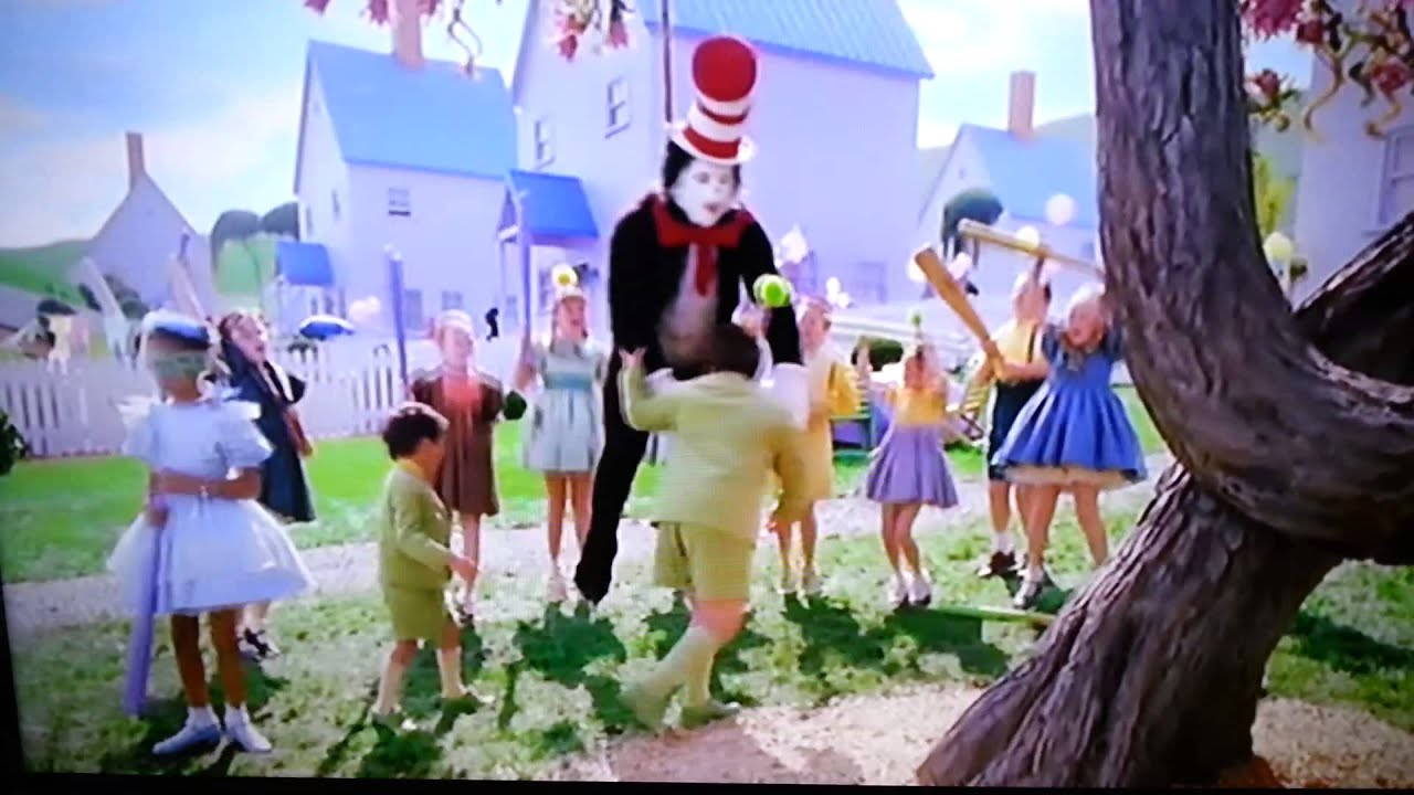 8b559858 Cat in the hat most funny scene - YouTube