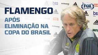 MENGÃO FORA! Jorge Jesus e jogadores falam após eliminação do Flamengo thumbnail