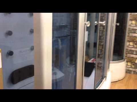 Bồn tắm, phòng xông hơi được cung cấp tại đại lý nội thất Nam Anh