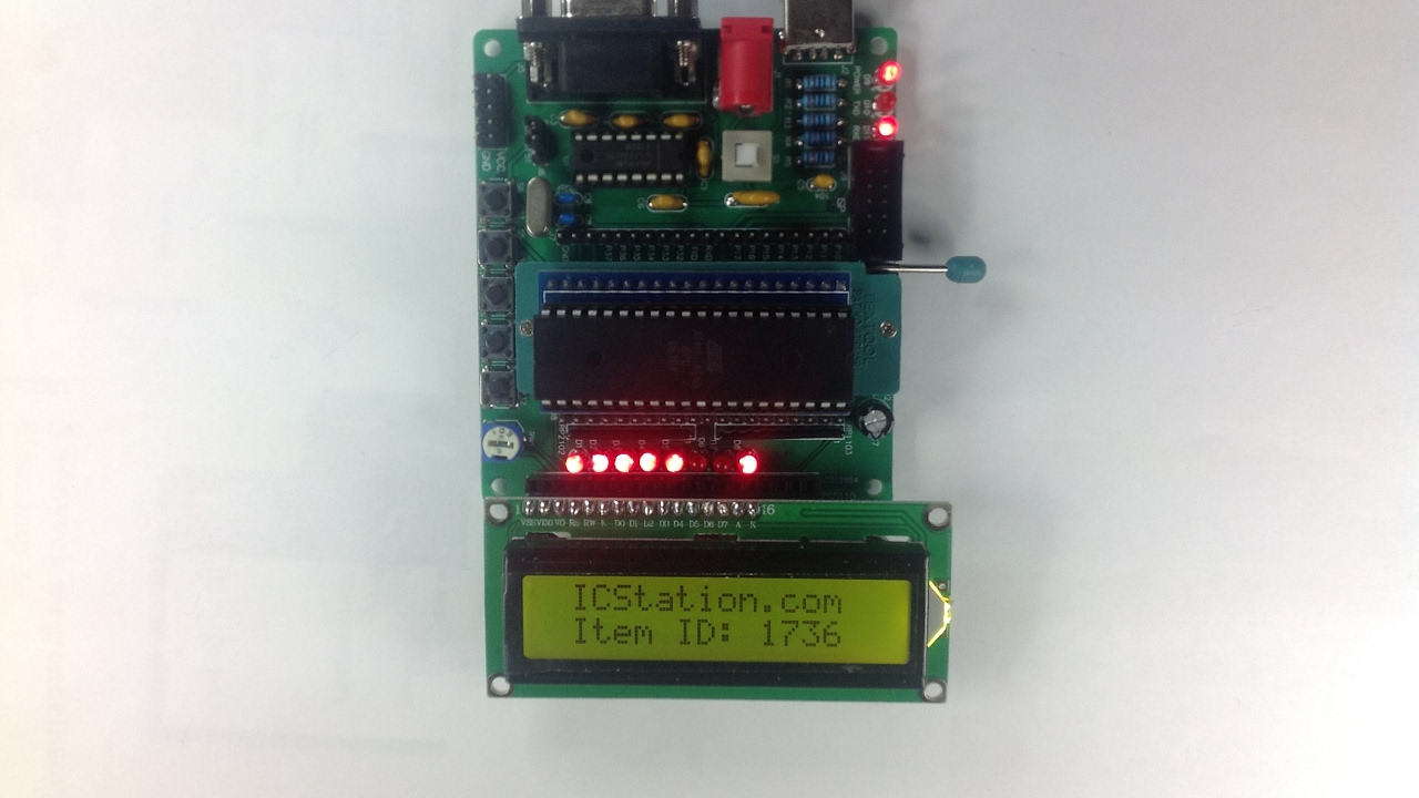 Icstationcom Diy Learning Board Kit Parts C51 Avr Mcu Development Basics Updated Using An Accelerometer With Microcontroller
