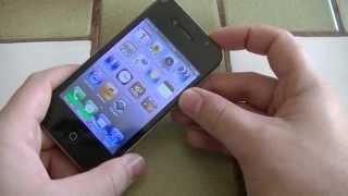 HaïPhone W4S - Un faux Apple iPhone 4S sous Android 2.3