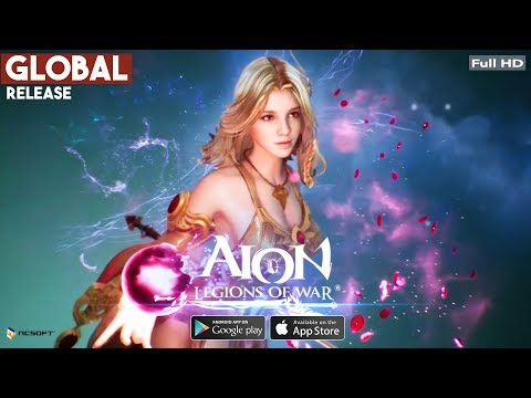 Aion: Legions Of War Global Release By NCSoft Gameplay Android/iOS