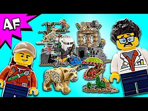 Lego City Jungle Exploration Site 60161 Speed Build