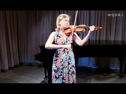 Violinist Alina Ibragimova Plays the Largo from Bach's Sonata No. 3 in C Major