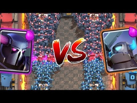 MINI PEKKA VS PEKKA | CLASH ROYALE SUPER CHALLENGE