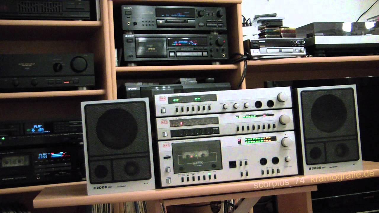 rft hmk100 hifi anlage made in gdr youtube. Black Bedroom Furniture Sets. Home Design Ideas