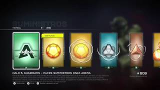 Mini pack opening HALO 5 Tiroteo TANQUES y La Vieja Confiable