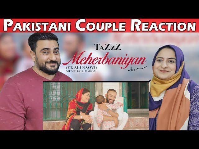 Meherbaniyan | TaZzZ ft. Ali Naqvi, Saima & Inaya | Reaction | IAMFawad