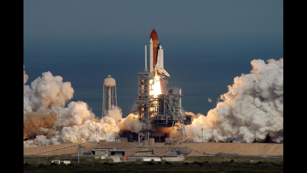 STS 51C launch [enhanced audio...