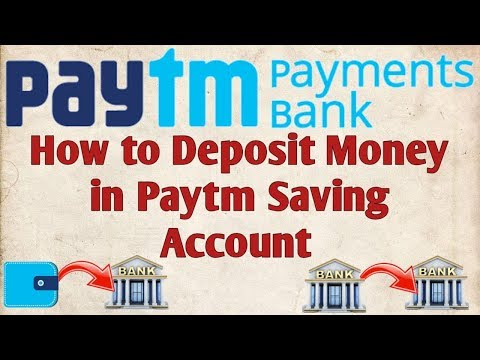 How to Deposit Money in Paytm Saving Account !! Paytm Wallet to Paytm Bank Account Money Transfer