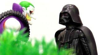 Джокер и Дарт Вейдер объединились. Видео для мальчиков.