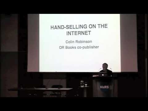 Handselling Online - Colin Robinson - Tech Forum 2011