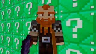 Minecraft: LUCKY BLOCKS ESMERALDA | ENANO CABREADO!! | Desafío de la Suerte Especial - #72
