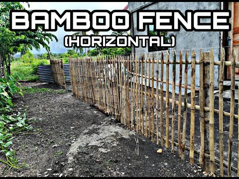 BAMBOO FENCE. (Mart's TV)