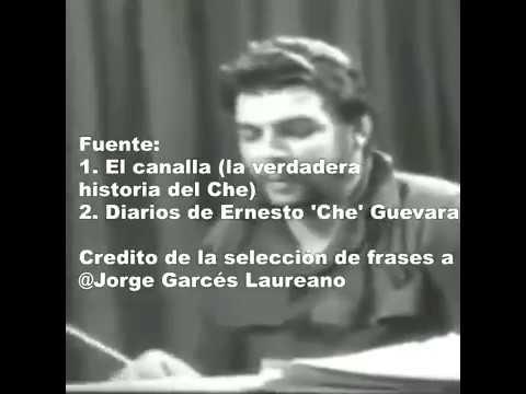 10 Frases Del Che El Asesino Revolucionario Youtube