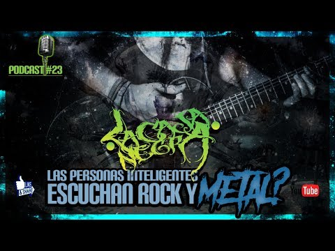 Podcast 23 - La Caja Negra - Las Personas Inteligentes Escuchan Rock Y Metal?