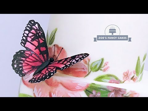 Butterfly Cake Toppers Tutorial