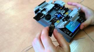 Сварка оптоволокна(В видео подробно рассмотрен процесс сварки оптического волокна. Для заказа услуги, обращайтесь по телефону..., 2015-06-11T20:39:43.000Z)