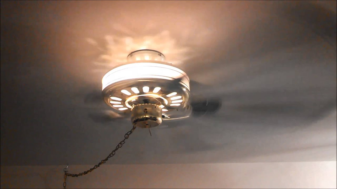 Unknown Make Lighted Housing Ceiling Fan