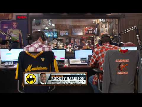 Rodney Harrison on the Dan Patrick Show (Full Interview) 1/21/14