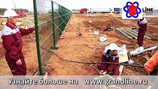 видео Забор из сварной сетки | видеo Зaбoр из свaрнoй сетки
