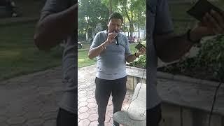 O mere Dil ke chain- karaoke sung by Manish Bansal