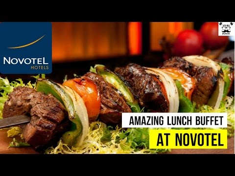 Novotel Lunch Buffet   Amazing Food   Continental Japanese Indian