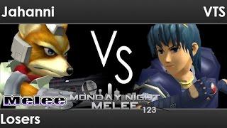 MNM 123 - Jahanni (Fox) vs VTS (Marth) Losers - Melee