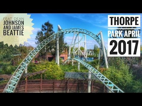 Thorpe Park Vlog (April 2017 feat. Dean Johnson and James Be