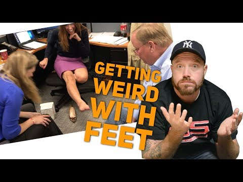 Things Got Weird at the Radio Station After Lou's Foot Blog