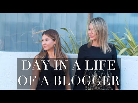 A Day In The Life Of A Blogger - Hollywood & Makeup Shopping PART 1 of 2