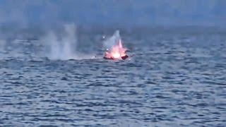 Mark 38 Machine Gun Hits Small Boat Targets • US Navy