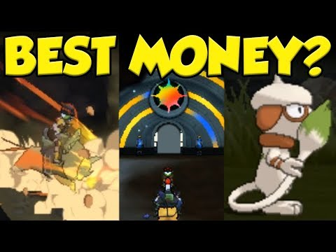 What Is The BEST Money Making In Pokemon Ultra Sun and Pokemon Ultra Moon?