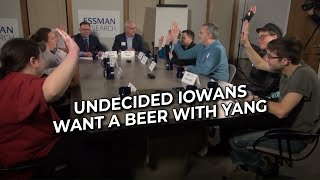 Iowa Undecideds Want Beer with Yang - NBC WHO-TV13 - 12/20/19