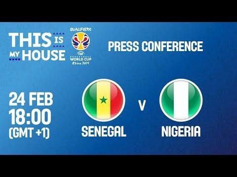 Senegal v Nigeria - Press Conference