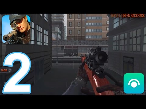 Sniper 3D Assassin: Shoot to Kill - Gameplay Walkthrough Part 2 - Region 1 (iOS, Android)