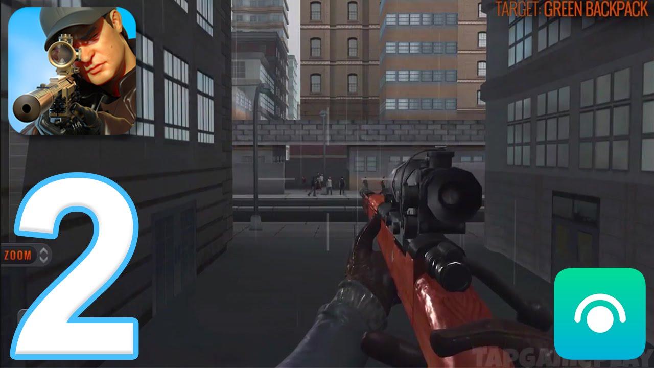 Sniper d assassin shoot to kill gameplay walkthrough
