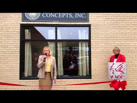 Investment Concepts Ribbon Cutting