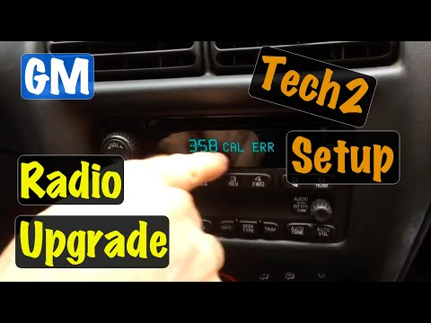 2003 04 05 Chevy Cavalier & Pontiac Sunfire Radio Install & Clear CAL ERR Using The Tech2 Scan Tool