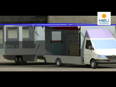 H2M - Il furgone a idrogeno autoprodotto a bordo dell'H2U-Hydrogen University